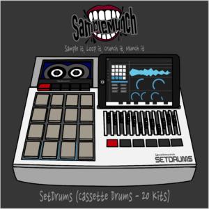 SetDrums (Cassette Drums – 20 Kits) Beatmaker 3 – Samplemunch
